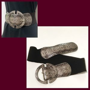 Wide Bandage Belt